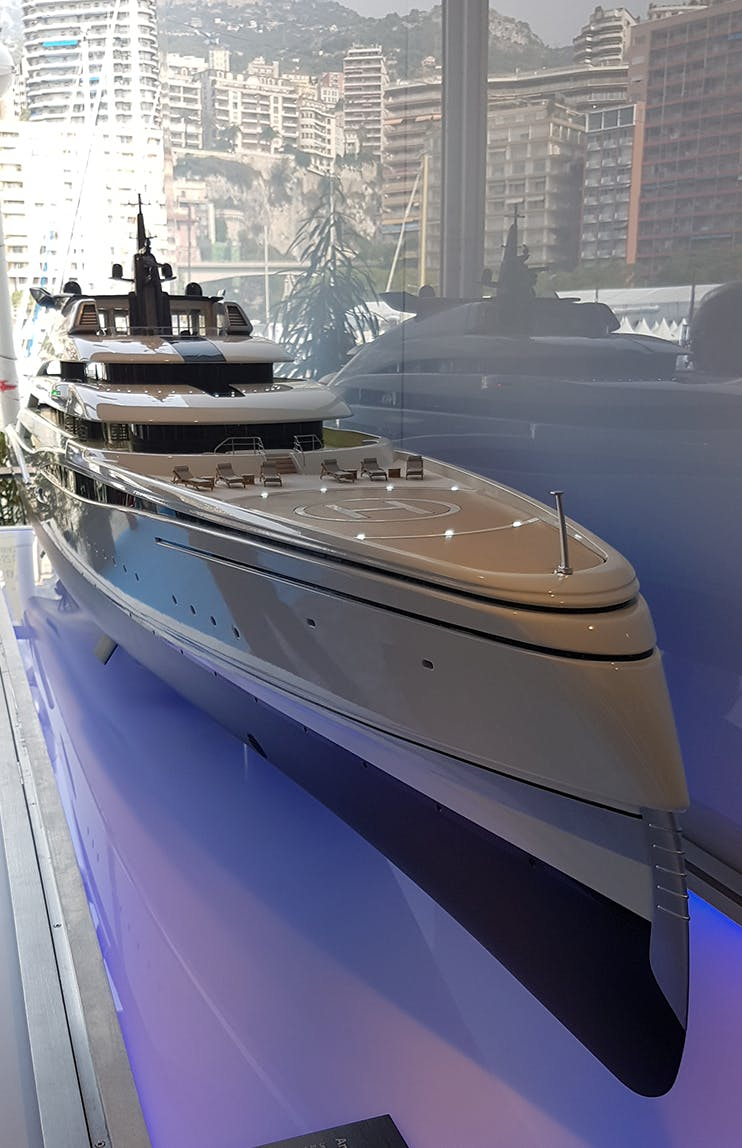 Amara Superyacht monaco boat show John Cullen Lighting