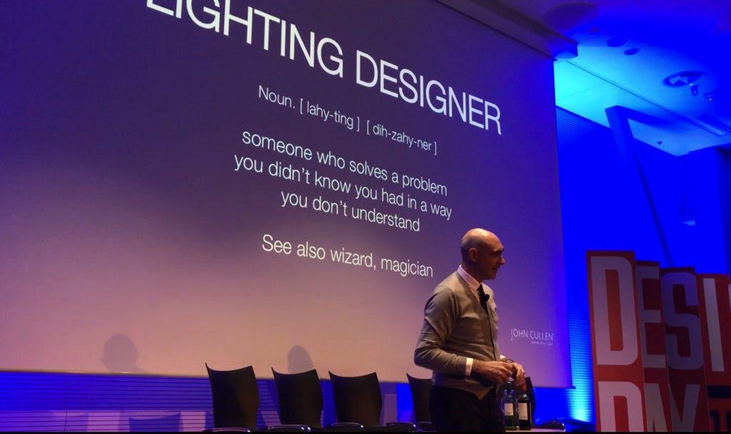 Claudio Innovative Thinking Superyacht Forum Liughting Designer monaco boat show