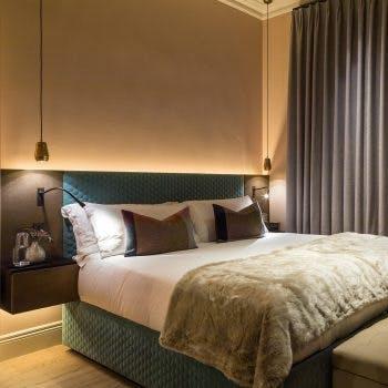 Joinery lighting in bedroom tip