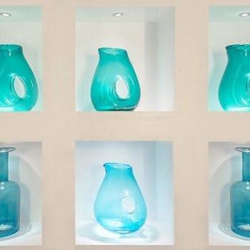 individual shelf lighting individual niches