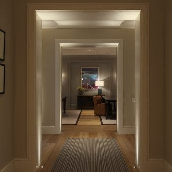 Uplighting architectural features