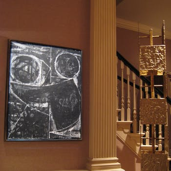 Framing projector lighting artwork