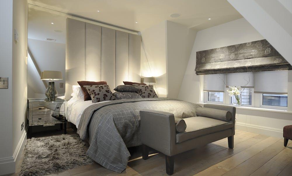 Loft Master Bedroom Lighting