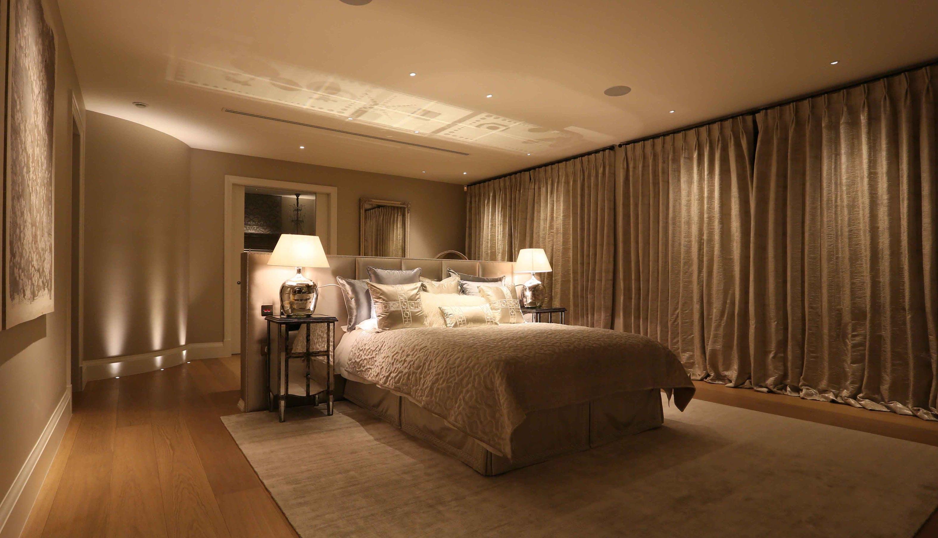master bedroom lighting design