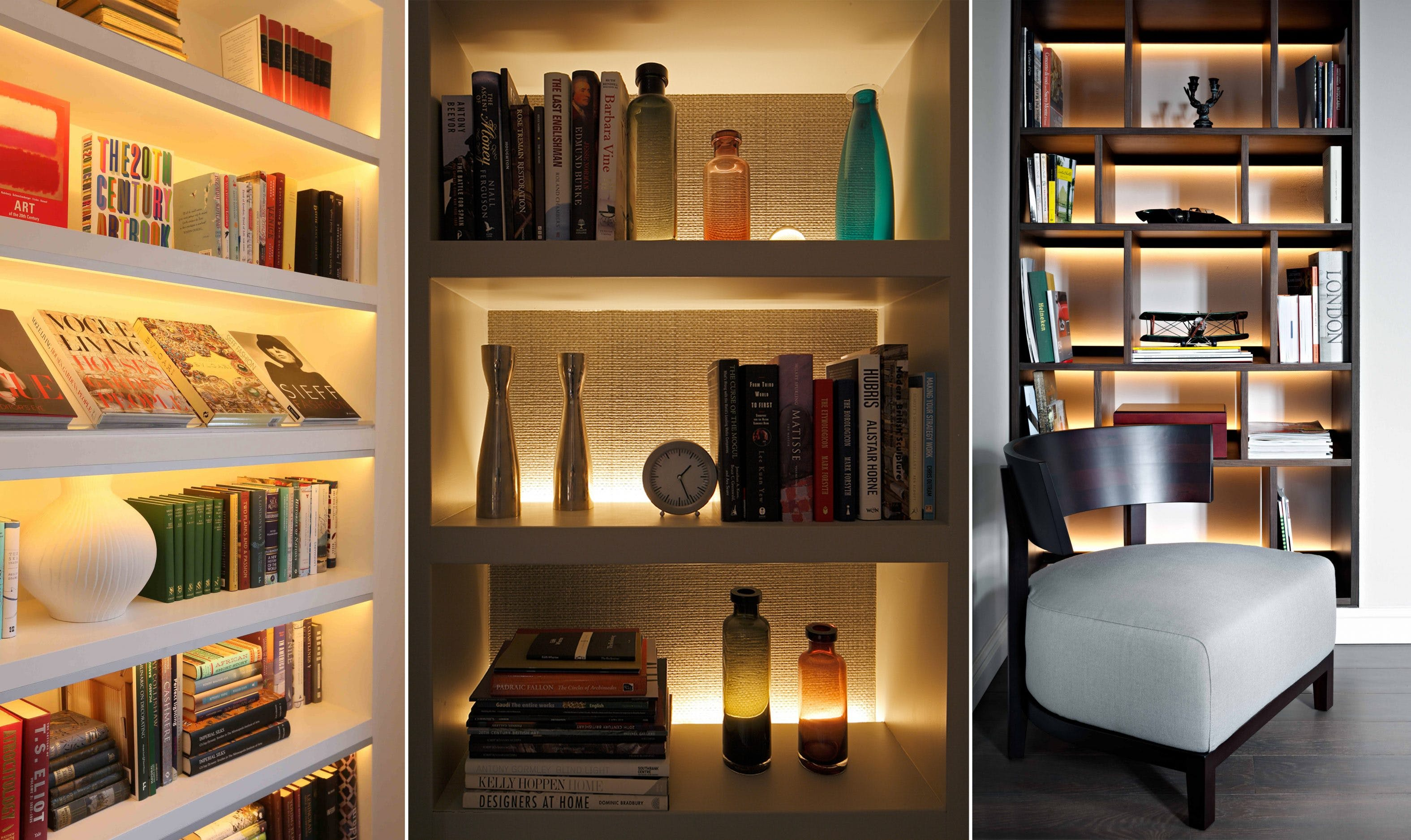 Shelf lighting ideas John Cullen Lighting