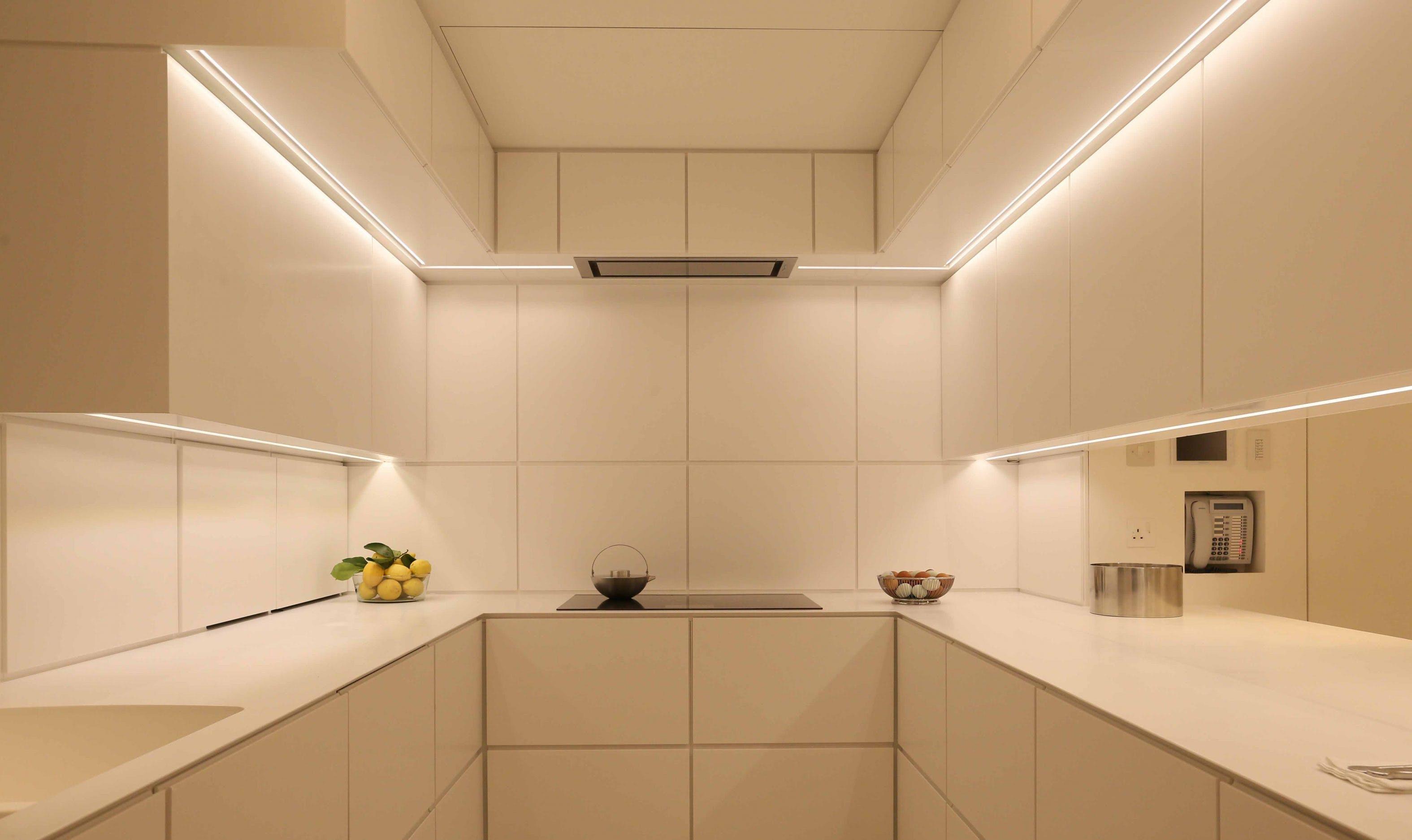 White Kitchen Lighting