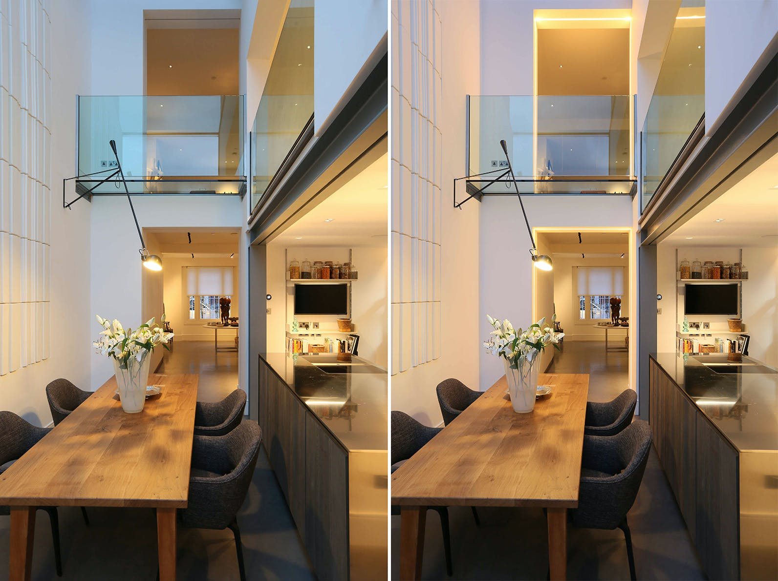 kitchen lighting on and off