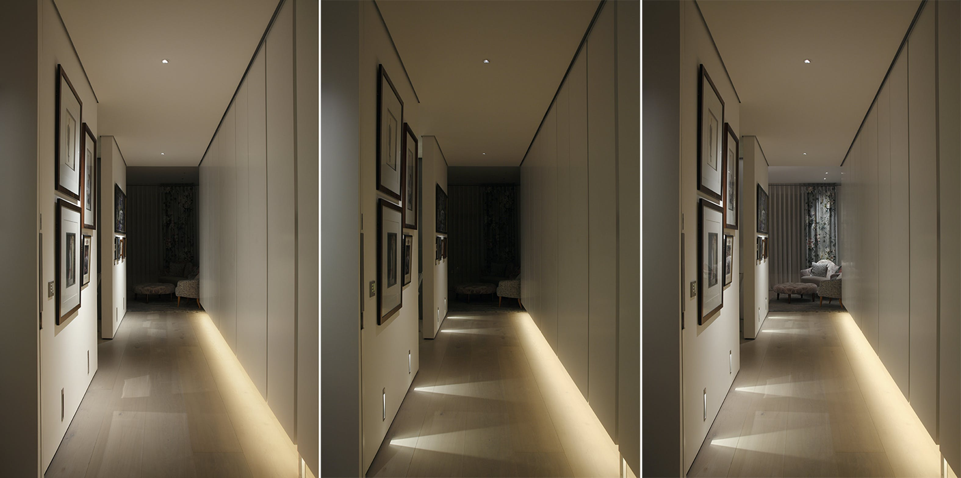 apartment corridor lighting
