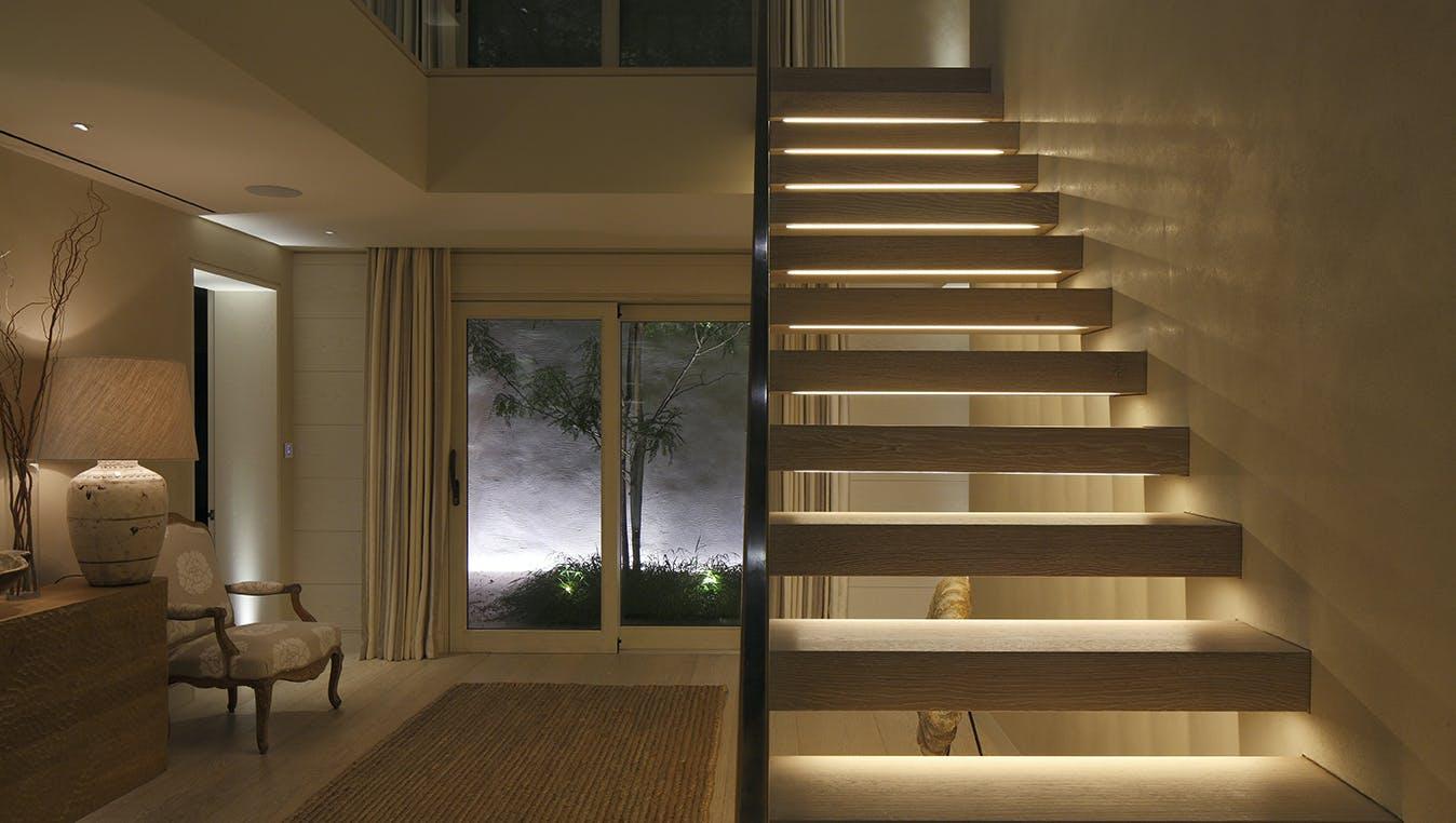 contemporary hall lighting