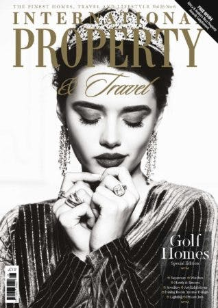 International Property and Travel Magazine John CUllen Lighting Cover