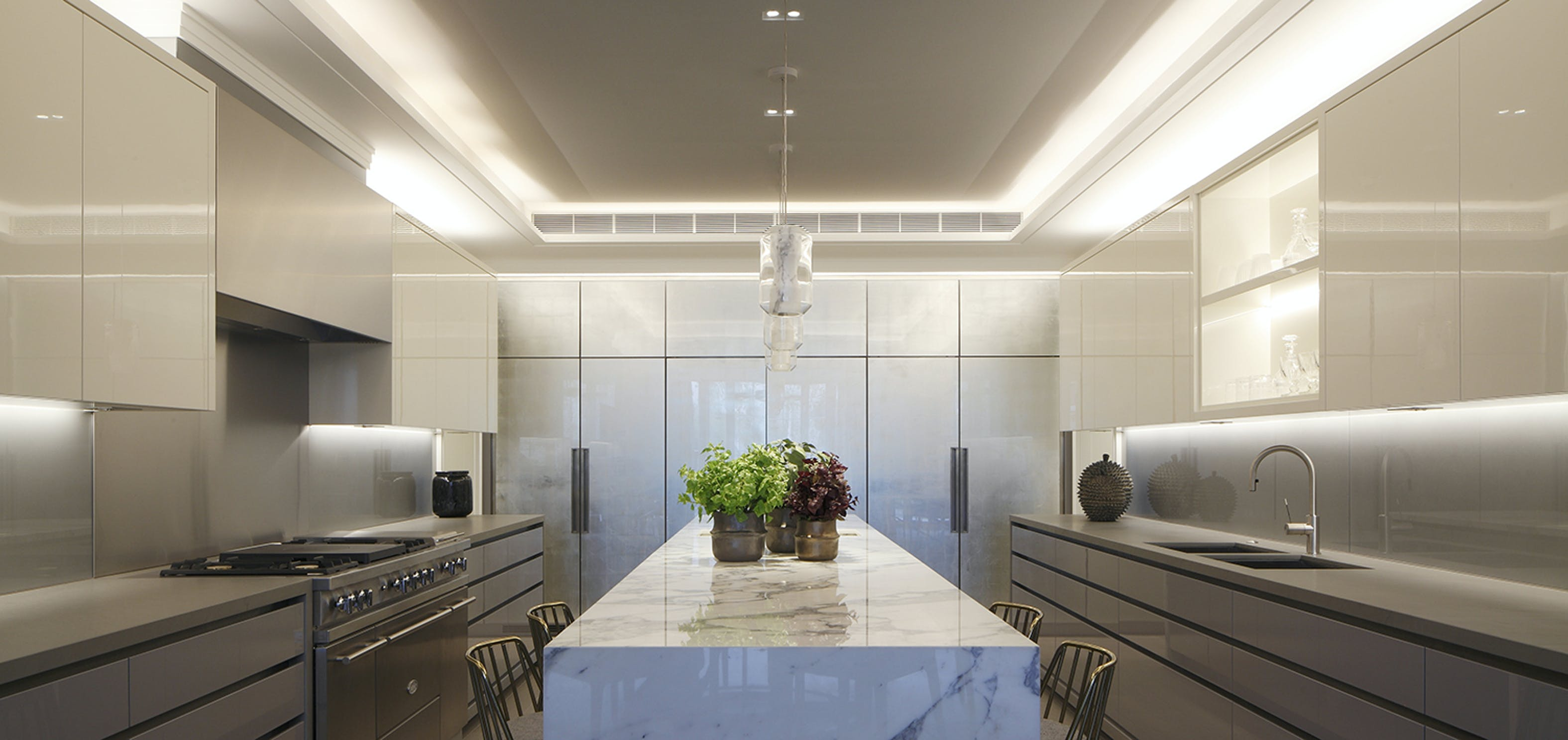 Minimalist Kitchen Lighting design and products