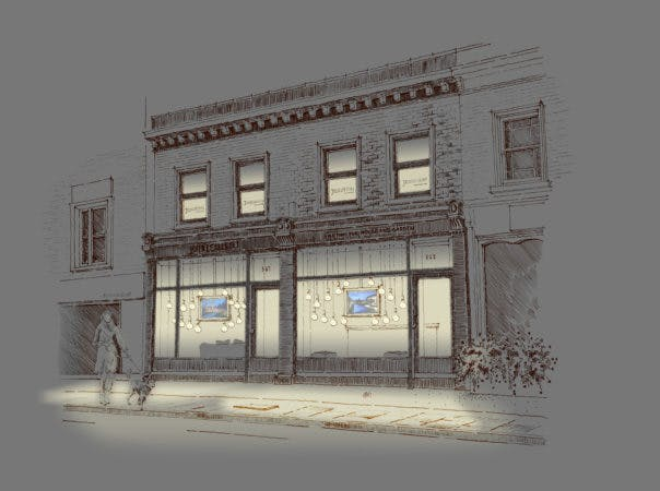 john cullen lighting showroom shop front