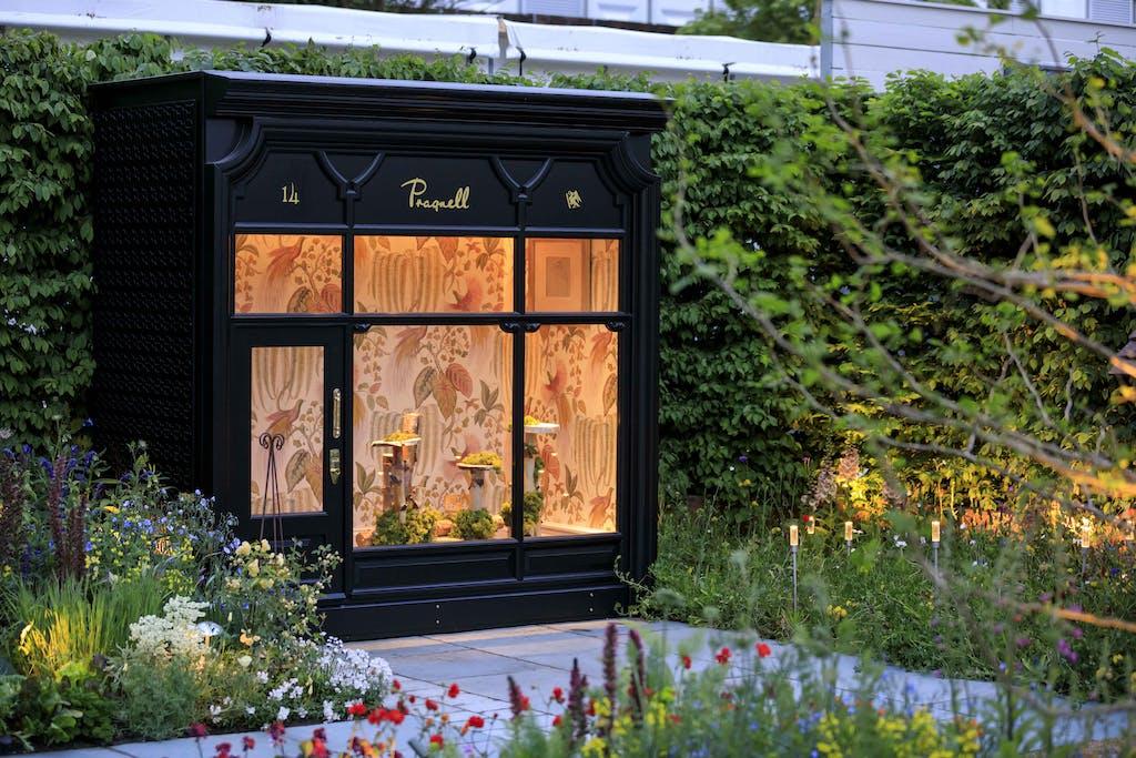 pragnal shop playhouse at chelsea flower show